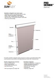 Monteringsanvisninger for solfilm - Solfilmgruppen A/S