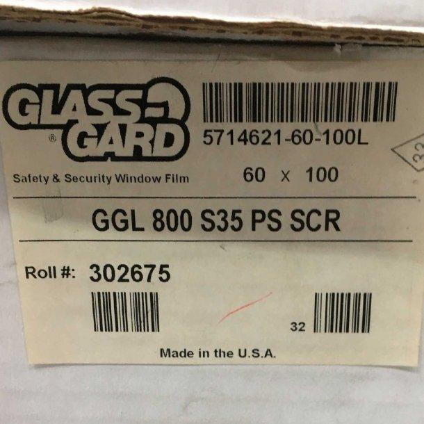 Sikkerhedsfilm GGL 800 Silver 35