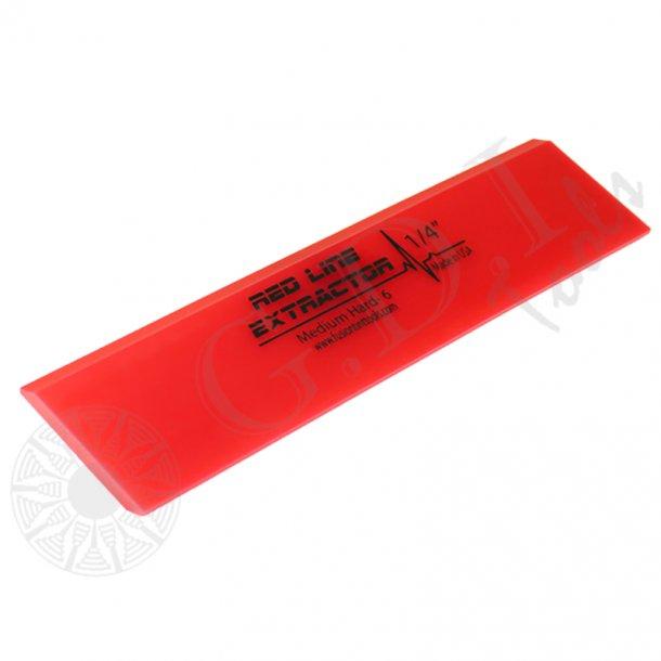 Rød dobbel gummi til Fusion skraber